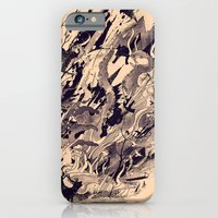 iPhone & iPod Case featuring Chaos by nicebleed