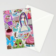 Candy Pop World Stationery Cards