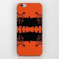Orange AbstractArtwork iPhone & iPod Skin