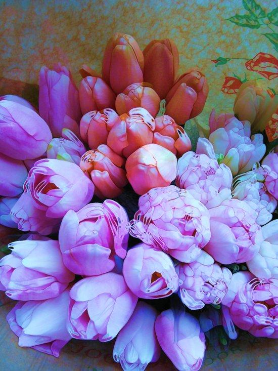 POP- Tulips Art Print