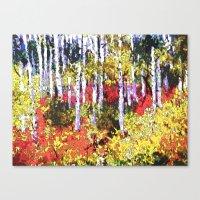 Glorious Colors Canvas Print