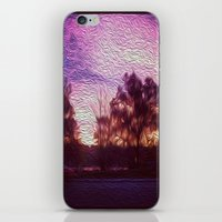 Pink Sunrise iPhone & iPod Skin