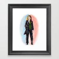 2 OLIVIAS DUNHAM (FRINGE… Framed Art Print