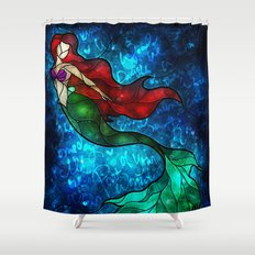 The Mermaids Song Shower Curtain