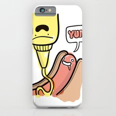 Friends Go Better Together 3/7 - Hot Dog and Mustard iPhone 6s Slim Case