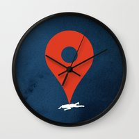 Pinned Wall Clock