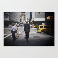 NYC modern mad men Canvas Print