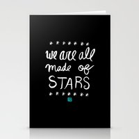 Made Of Stars Stationery Cards