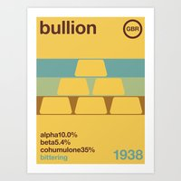 bullion//single hop Art Print