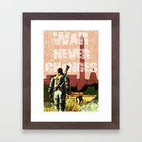 Fallout 3 Framed Art Print