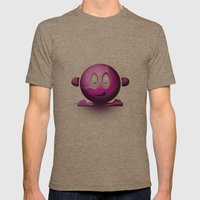 Emoticon Magenta Mens Fitted Tee Tri-Coffee SMALL