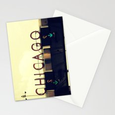 Chicago Skyway ~ Vintage Mid-Century Tollbridge Sign Stationery Cards