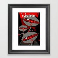 Always Watching - Weztek… Framed Art Print
