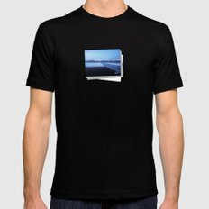 Tromso - Norway Mens Fitted Tee Black SMALL