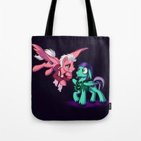 Mad T Ponies 'Mally and Thackery' Tote Bag