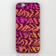 iPhone & iPod Skin featuring Fur Stripes by Gimetzco's Damaged G…