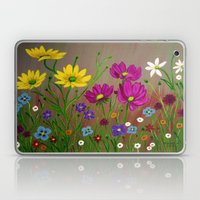 Spring Wild flowers  Laptop & iPad Skin