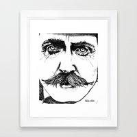 Steady The Buffs Framed Art Print
