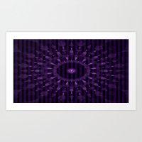 Kaleidoscope Eye Art Print
