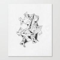 Art Of Geometry 4 Canvas Print