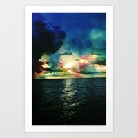 Rise With The Tides Art Print