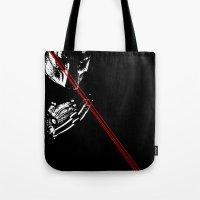 Predator Black And White Tote Bag