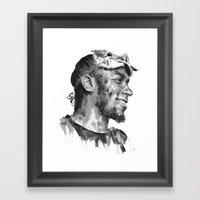 Mos Def Framed Art Print