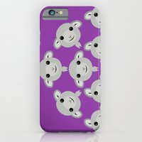 Sheep Circle - 4 iPhone 6 Slim Case
