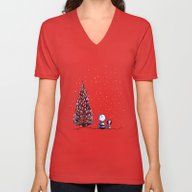 Merry Christmas Charlie … Unisex V-Neck