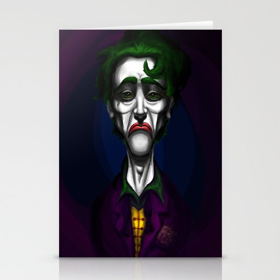Sad Joker Stationery Card