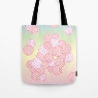 Square Bubble Tote Bag