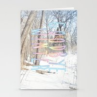 Goodbye Winter Stationery Cards