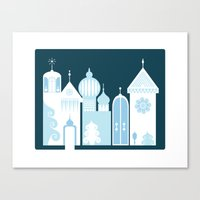 The Ice Castle Canvas Print