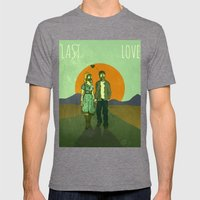 Last Love Mens Fitted Tee Tri-Grey SMALL