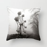 Amusements On The Road O… Throw Pillow