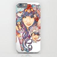 iPhone & iPod Case featuring Pintsizevillan portrait by Anna-Lise