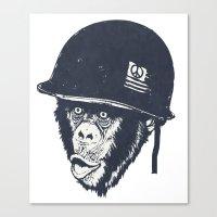 Monkey mania Canvas Print