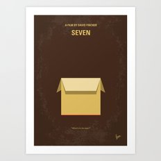 No233 My Seven Minimal M… Art Print