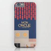 Mon Oncle - Jacques Tati Movie Poster iPhone 6 Slim Case