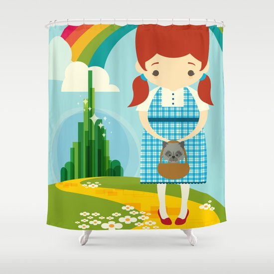 Dorothy Wizard of Oz Shower Curtain