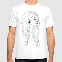 Profile Mens Fitted Tee White SMALL