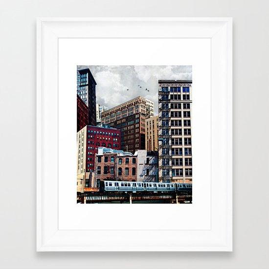 Rooftop #7 Framed Art Print