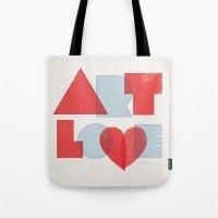 Art Love Tote Bag
