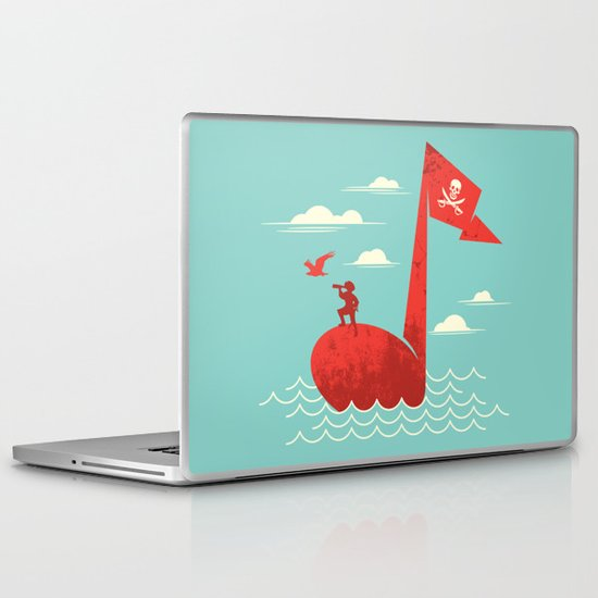 the pirate's song Laptop & iPad Skin