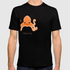 Hexapus Ink :3 SMALL Black Mens Fitted Tee