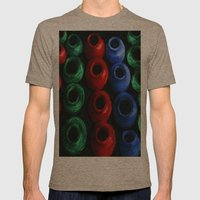 Mexy Mens Fitted Tee Tri-Coffee SMALL