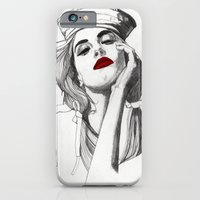 iPhone & iPod Case featuring Sailor Girl by Paul Nelson-Esch /Expeditionary Club