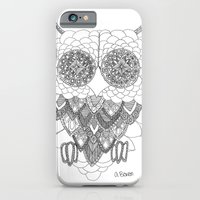 iPhone & iPod Case featuring Angelina Bowen Fine Art Print- Owl by Angelina Bowen