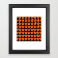 Hats & Stars Framed Art Print