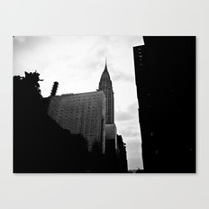 NEW YORK//SILHOUETTE Canvas Print